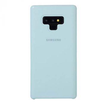 Оригинальный чехол накладка Soft Case для Samsung Note 9 Ocean Mint