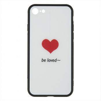 Силиконовая накладка с принтом от iPaky для iPhone 6 Plus Be Loved