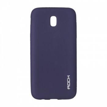 Плотный силиконовый чехол Matte от Rock для Samsung A520 (A5-2017) синий