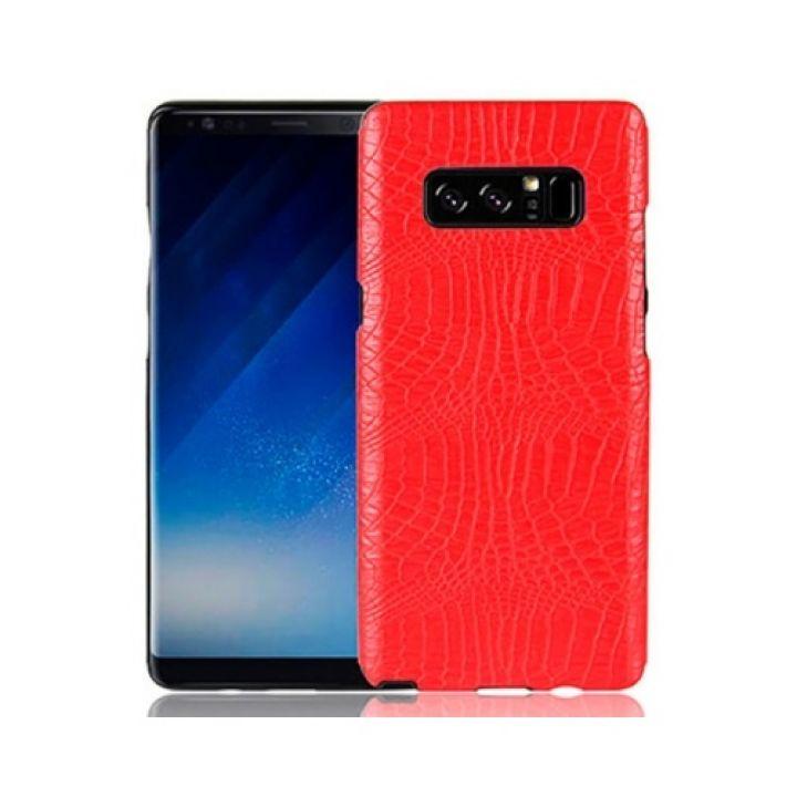 Красный чехол накладка Snaker для Samsung Galaxy Note 8