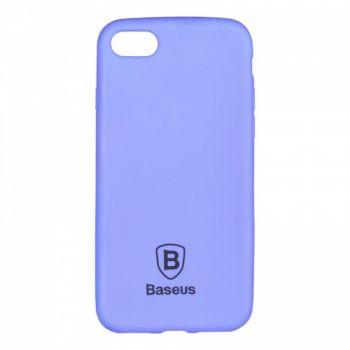 Яркий силиконовый чехол Colorit от Baseus для iPhone 4 синий