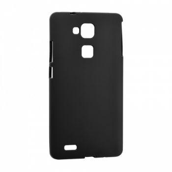 Оригинальная силиконовая накладка для Huawei Y7 черный