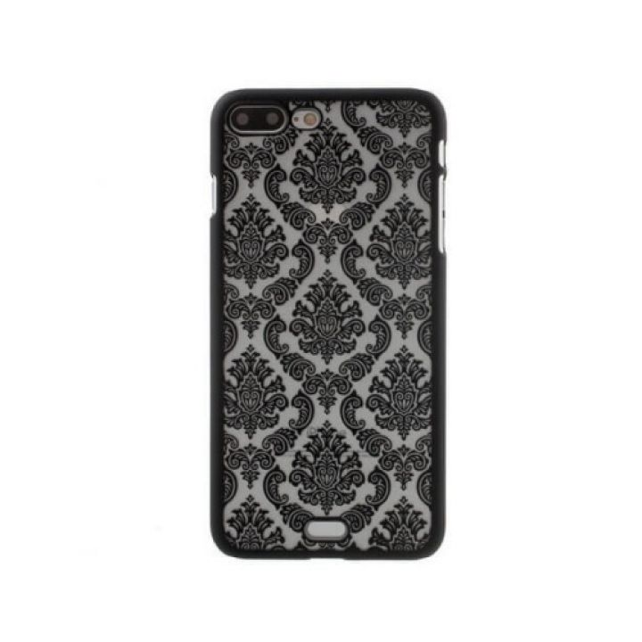 Красивый пластиковый чехол накладка Damask Vintage для iPhone 7 Plus black