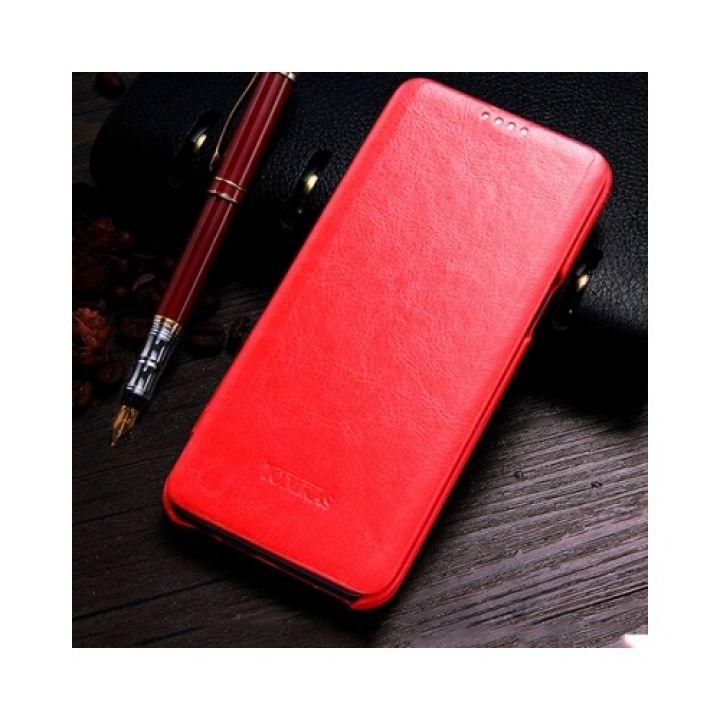 Luxury Case яркий красный чехол флип для Samsung Galaxy S8 Plus