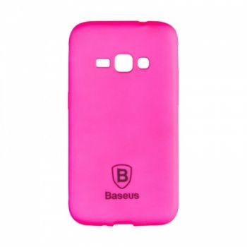 Яркий силиконовый чехол Colorit от Baseus для Samsung J510 (J5-2016) розовый