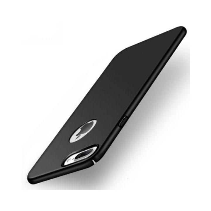 Ультратонкий чехол бампер Silk Touch для iPhone 7 Plus black