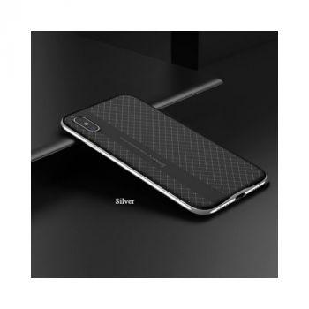 Защитный чехол пенал Defense для iPhone X silver