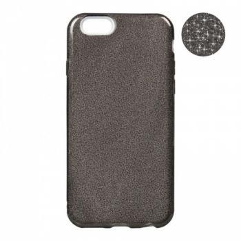 Черный чехол с блестками от Remax для iPhone 8