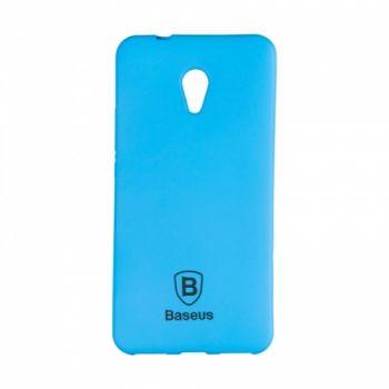 Яркий силиконовый чехол Colorit от Baseus для Meizu M5 синий