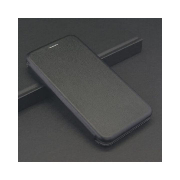 Черный чехол книжка Luxury для Samsung Galaxy J330 2017