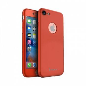 Двусторонний чехол накладка Mattle 360° от iPaky для iPhone 5 красный