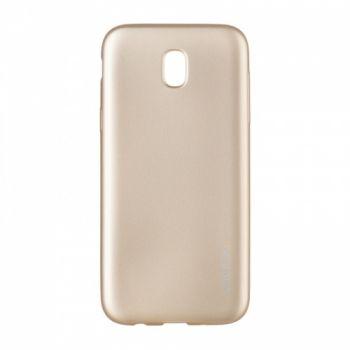 Плотный силиконовый чехол Matte от Rock для Samsung A720 (A7-2017) золотой