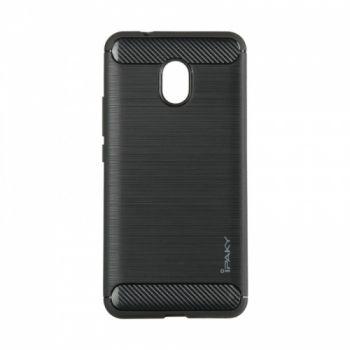 Силиконовая накладка Slim Carbon от iPaky для Meizu M5s черный