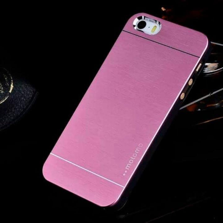 Металлический чехол-накладка Luxury Hard для iPhone 5/5S purple