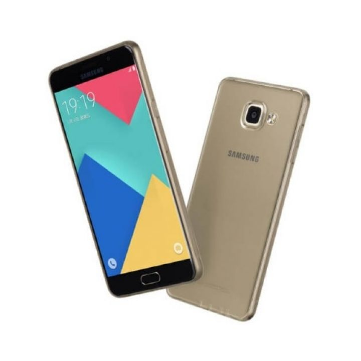 Чехол бампер Bright для Samsung Galaxy A7 2016 black