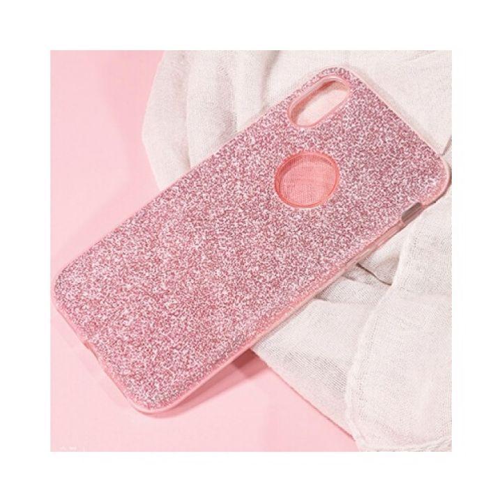Красивый розовый чехол накладка Be Amazing для iPhone X