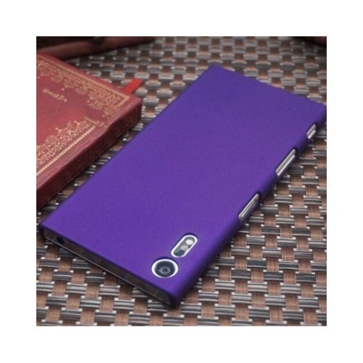 Тонкий пластиковый чехол накладка Silk Touch для Sony Xperia XZ