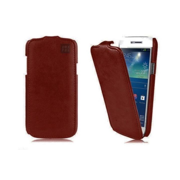 Оригинальный чехол флип из кожи Luxury Case для iPhone 7 Plus brown