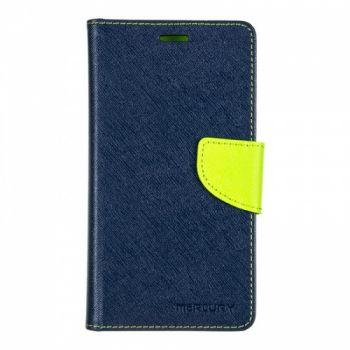Чехол книжка из материи о Goospery для Huawei Y3 синий