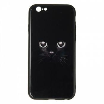 Чехол накладка с принтом на стекле от iPaky для Huawei P20 Lite Cat