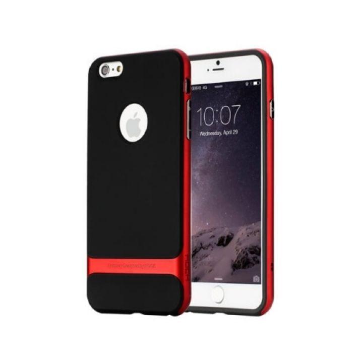 Яркий чехол бампер Shock для защиты iPhone 6/6s red