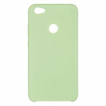 Оригинальный чехол накладка Soft Case для Xiaomi Redmi Note 5a Prime Light Green