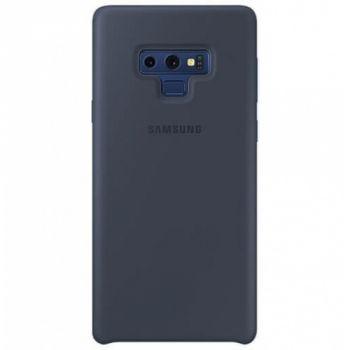 Оригинальный чехол накладка Soft Case для Samsung Note 9 темно-синий