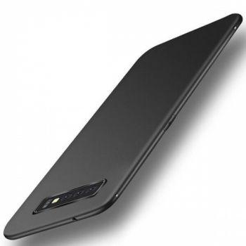 Ультратонкий черный чехол накладка Elastic для Samsung Galaxy S10