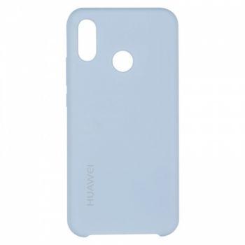 Оригинальный чехол накладка Soft Case для Huawei P20 Lite Lilac