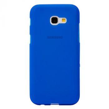 Оригинальная силиконовая накладка для Samsung A710 (A7-2016) синий