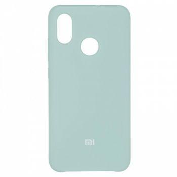 Оригинальный чехол накладка Soft Case для Xiaomi Mi8 Ocean Mint