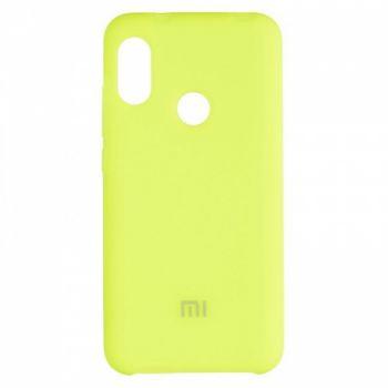 Оригинальный чехол накладка Soft Case для Xiaomi Redmi 6 Pro Lime