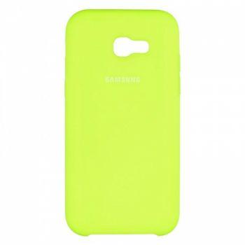 Оригинальный чехол накладка Soft Case для Samsung A520 (A5-2017) Lime