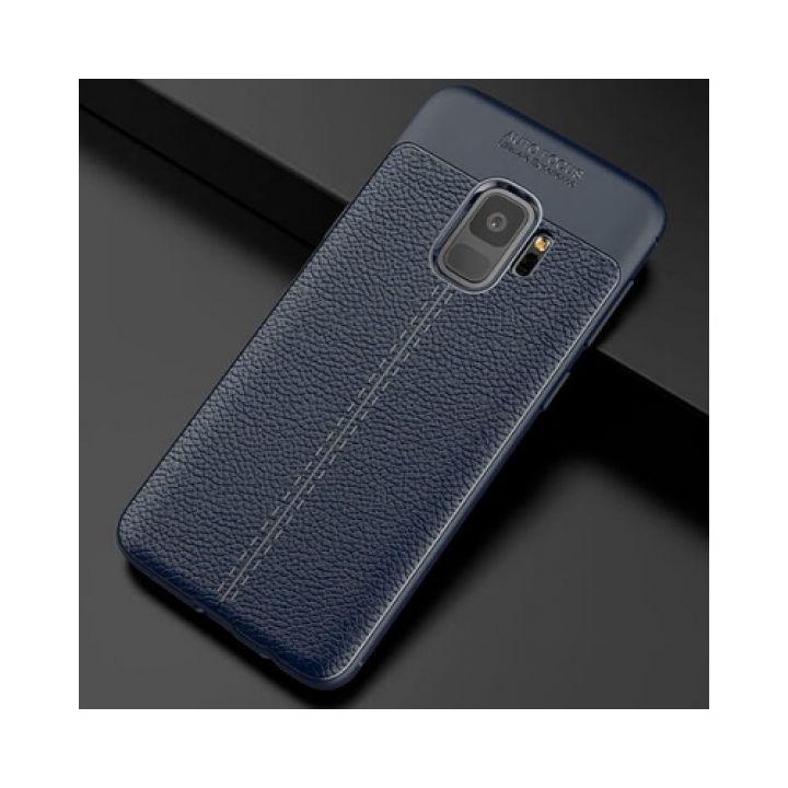 Стильный чехол пенал Comby Navy для Samsung Galaxy S9