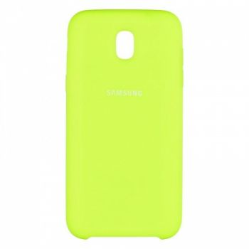 Оригинальный чехол накладка Soft Case для Samsung J530 (J5-2017) Lime