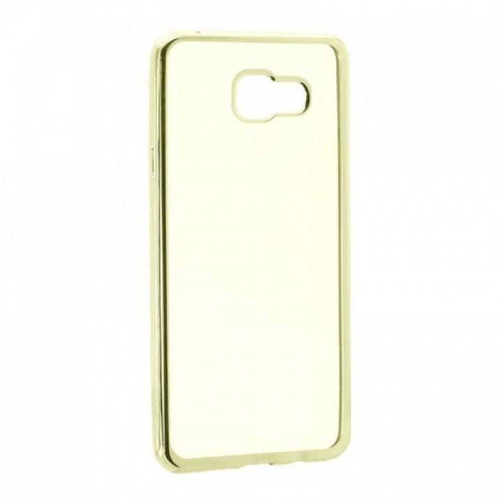 Cиликоновая накладка Air от Remax для Xiaomi Mi5c золото