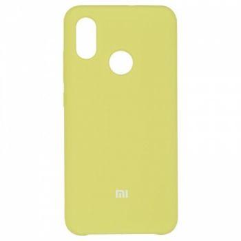 Оригинальный чехол накладка Soft Case для Xiaomi Mi8 Light Green