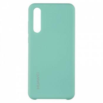 Оригинальный чехол накладка Soft Case для Huawei P20 Pro зеленый
