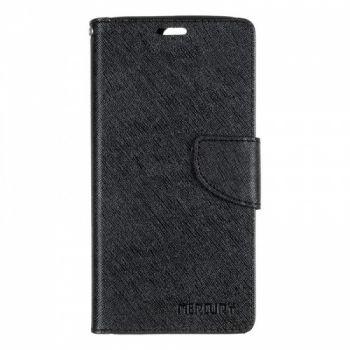 Чехол книжка из материи о Goospery для Huawei P10 Plus черный