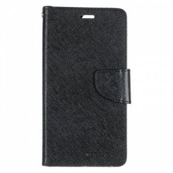 Чехол книжка из материи о Goospery для Huawei Nova 2 Plus черный