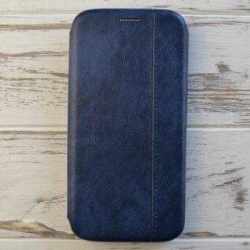 Синий чехол флип Lux Blue для Samsung Note 9