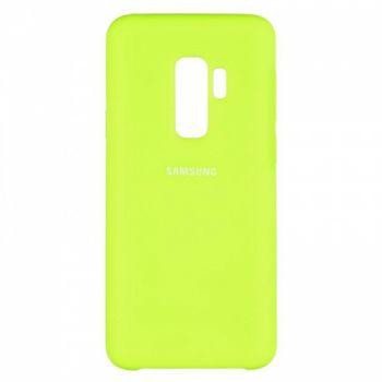 Оригинальный чехол накладка Soft Case для Samsung S9 Plus Lime