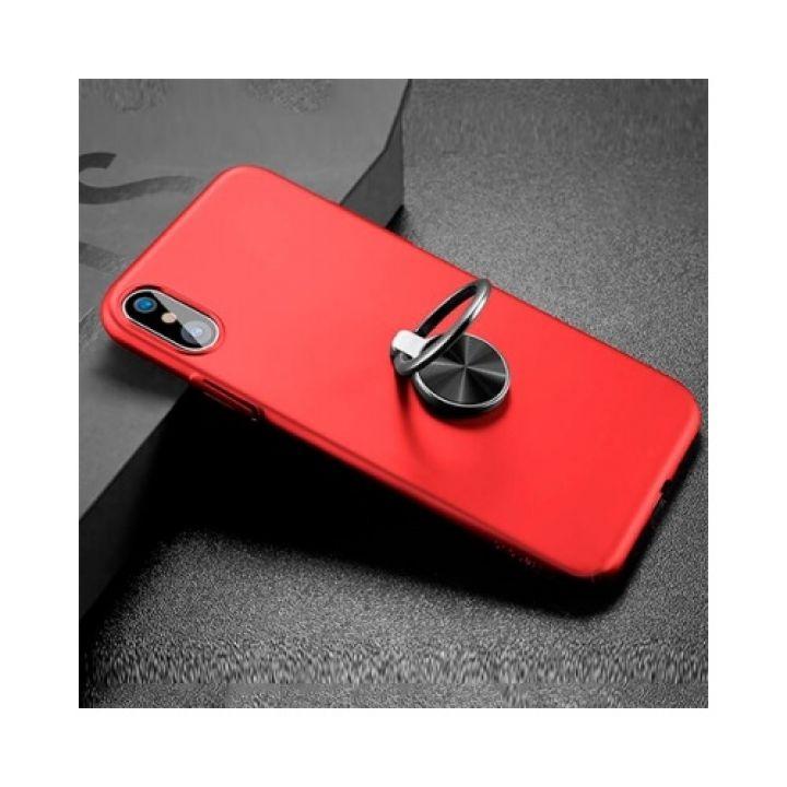 Красный чехол пенал Magnetic Red для iPhone X