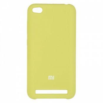 Оригинальный чехол накладка Soft Case для Xiaomi Redmi 5a Light Green