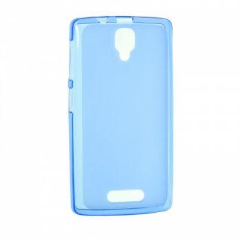 Оригинальная силиконовая накладка для Meizu M5 синий