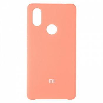 Оригинальный чехол накладка Soft Case для Xiaomi Mi8 SE Pink
