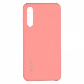 Оригинальный чехол накладка Soft Case для Huawei P20 Pro розовый