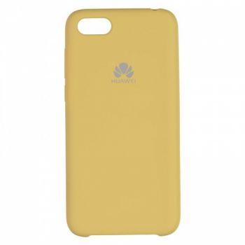 Оригинальный чехол накладка Soft Case для Huawei Y5 (2018) золото