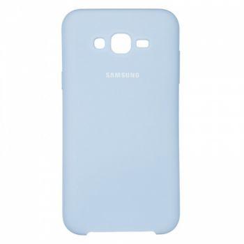 Оригинальный чехол накладка Soft Case для Samsung J700 (J7) фиолетовый