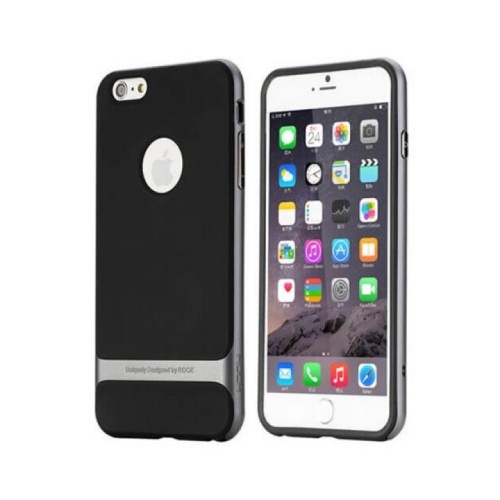 Защитный чехол бампер Shock для iPhone 6 Plus gray